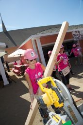 Camilla Belle - Helps Build Houses for