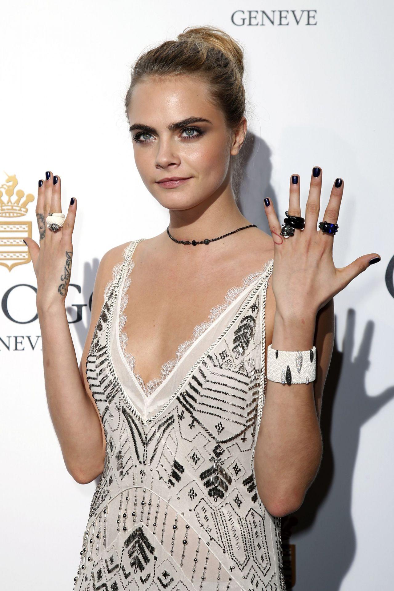 Cara Delevingne – de Grisogono 'Fatale In Cannes' Party – May 2014