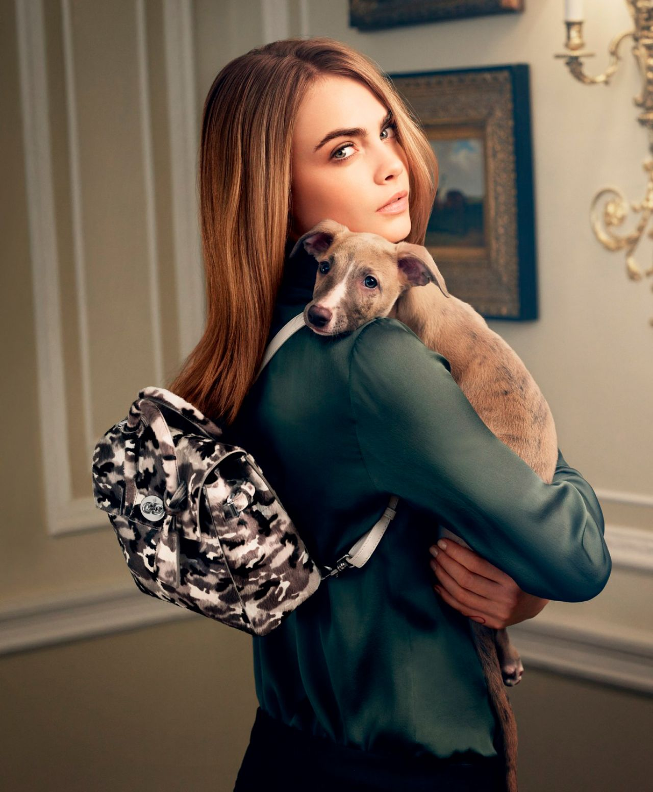 Cara Delevingne Photoshoot - Mulberry Fall/Winter 2014