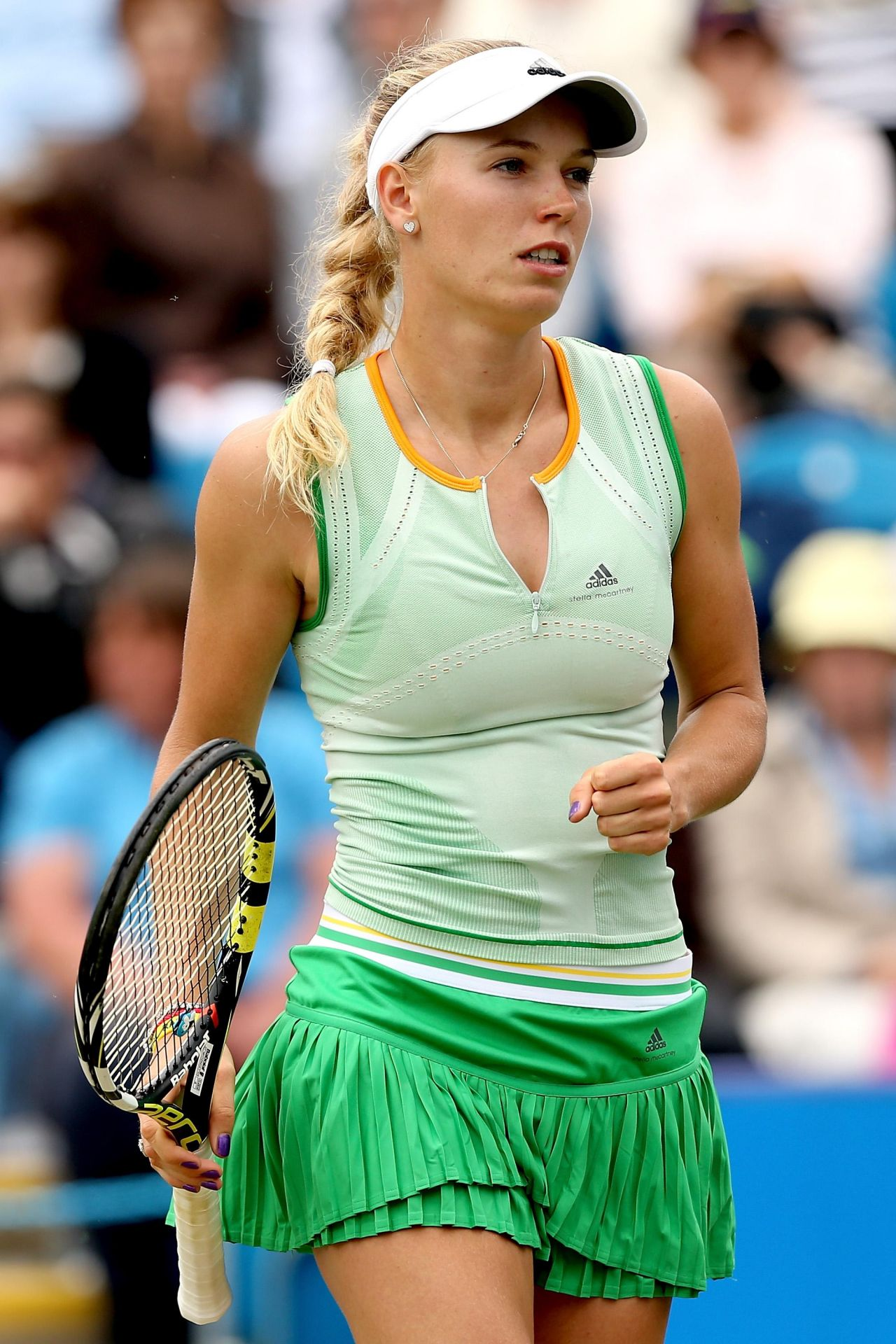 Caroline Wozniacki – 2014 Aegon International at Devonshire Park in Eastbourne – Day Three