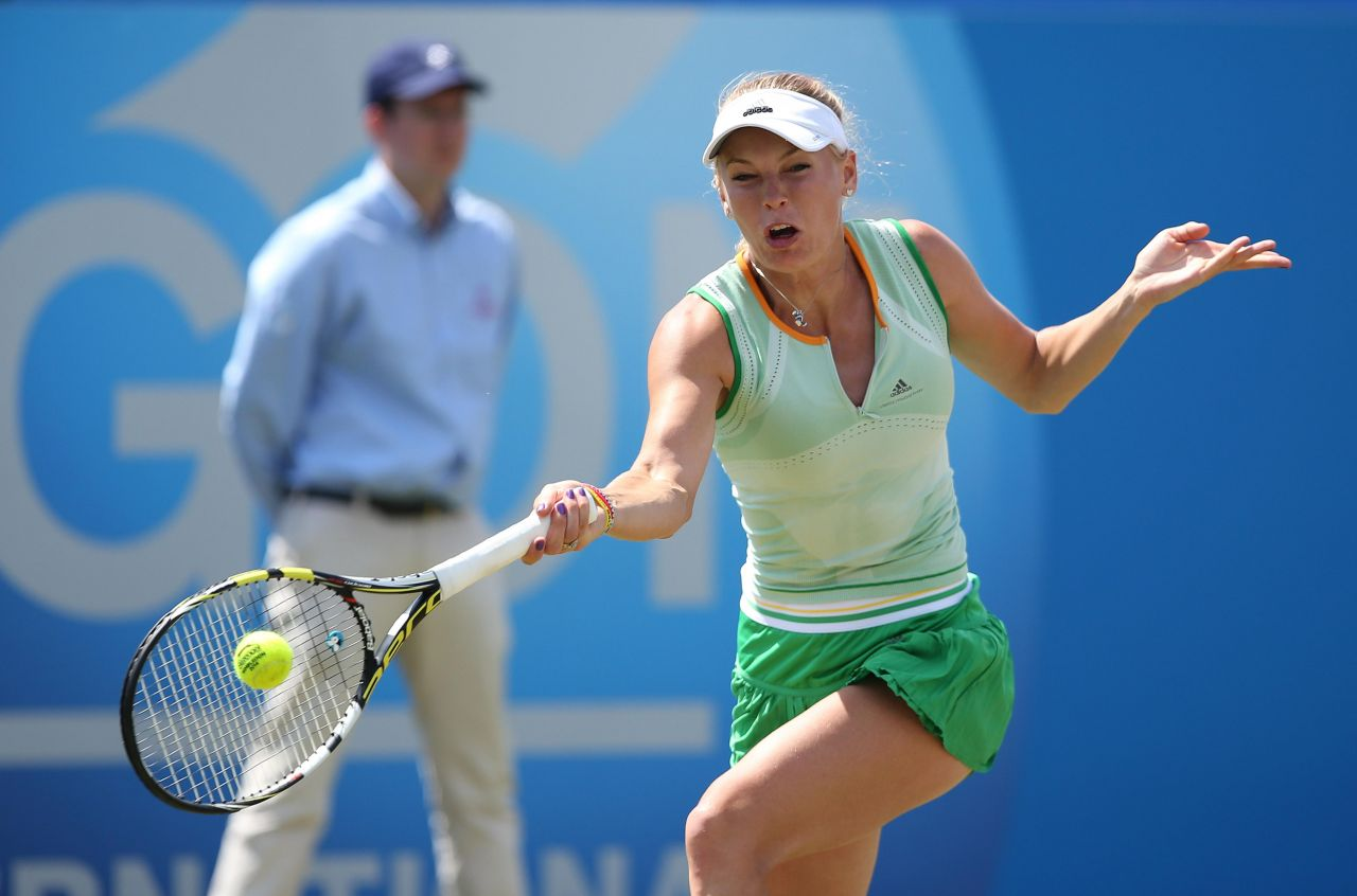 Caroline Wozniacki – Aegon International 2014 at Devonshire Park in Eastbourne – Semifinals