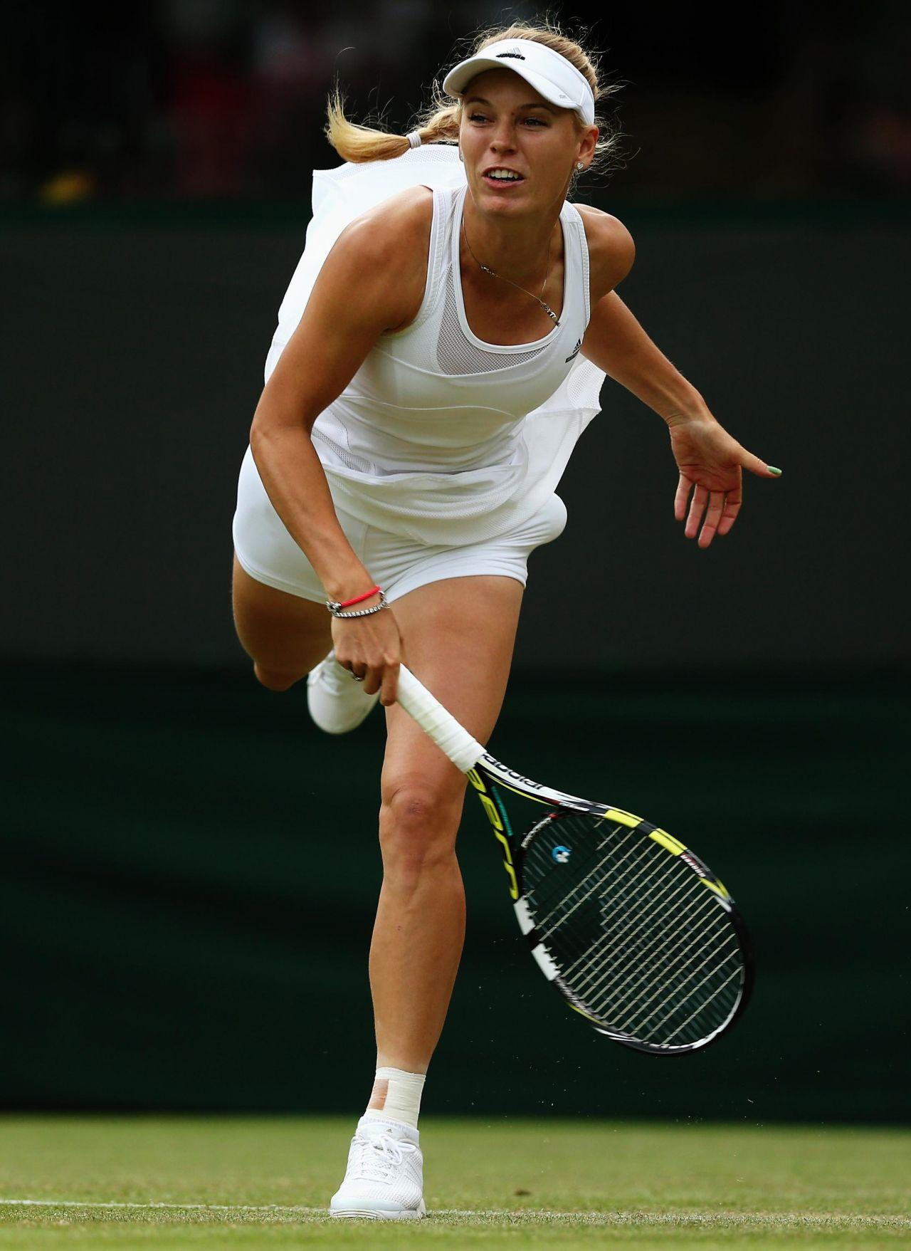 caroline wozniacki  u2013 wimbledon tennis championships 2014  u2013 2nd round