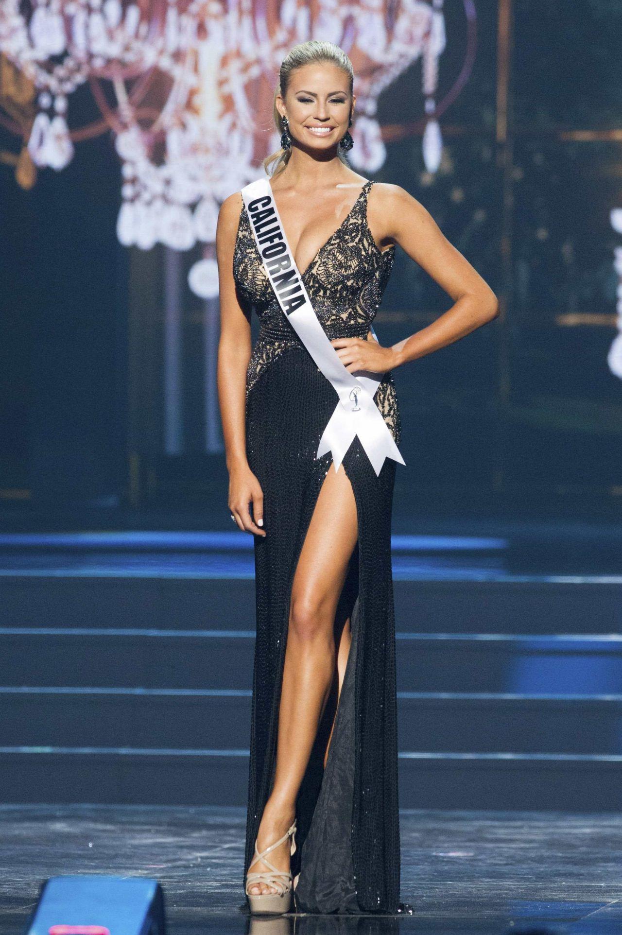 Cassandra Kunze (California) - Miss USA Preliminary Competition - June 2014