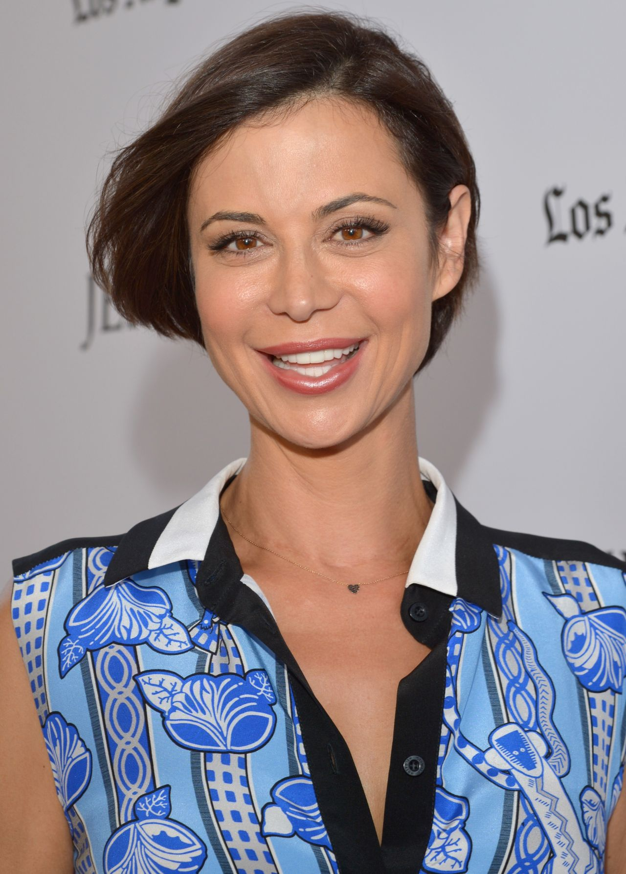 Catherine Bell On Red Carpet Jersey Boys Premiere At