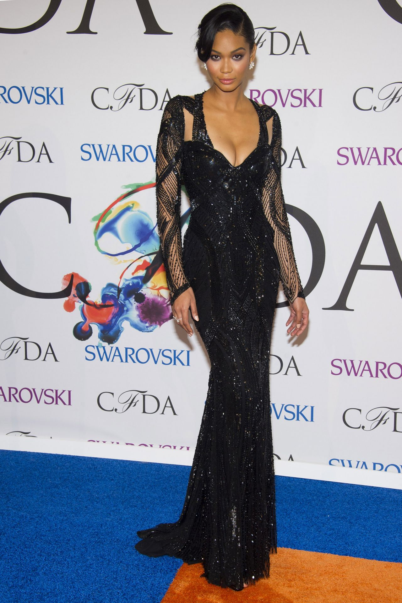 Chanel Iman - 2014 CFDA Fashion Awards