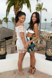 Chanel Iman – Oakley Learn to Ride-Surf in Cabo San Lucas – June 2014
