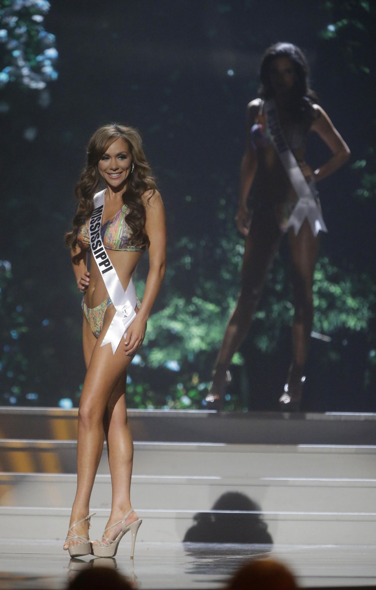 Chelsea Reardon (Mississippi) - Miss USA Preliminary Competition - June 2014