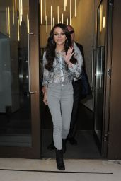 Cher Lloyd Casual Style - Leaving the Sony offices in London - June 2014