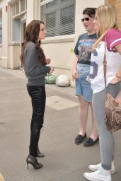 Cher Lloyd Casual Style - Out in London - June 2014