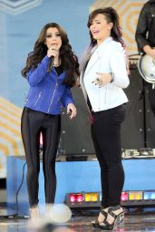 Cher Lloyd Performing With Demi Lovato on