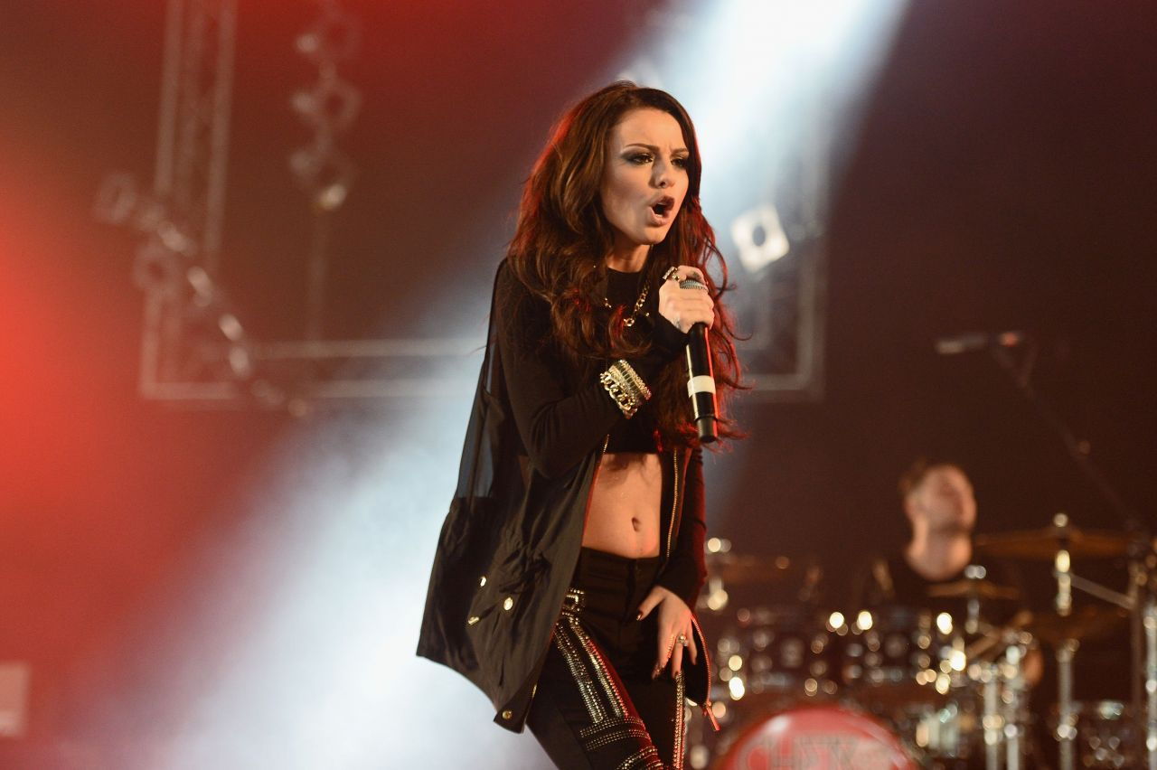Cher Lloyd Performs at Isle of Wight Festival (UK) - June 2014