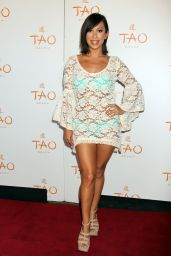 Cheryl Burke - Celebrates Her Birthday at Tao Beach in Las Vegas - May 2014