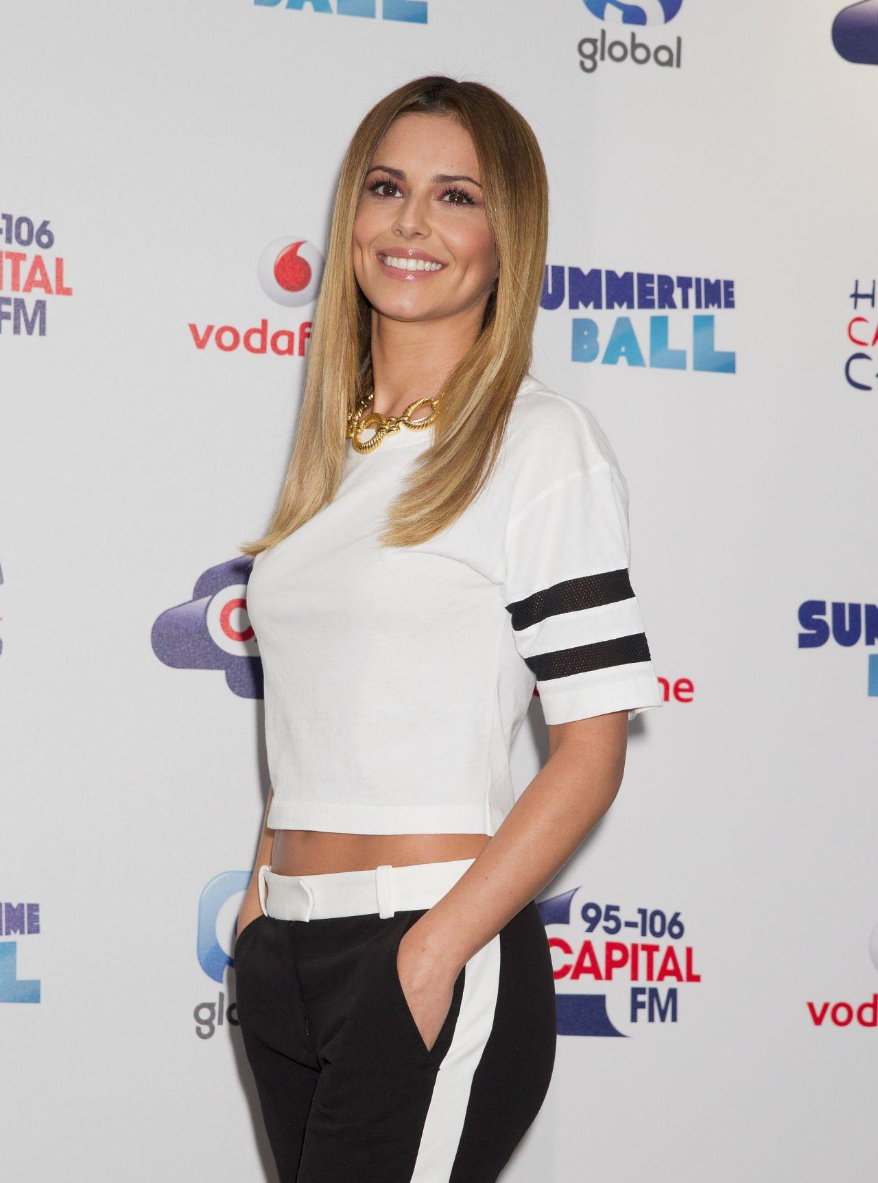 Cheryl Cole - Capital Summertime Ball at Wembley Stadium ...