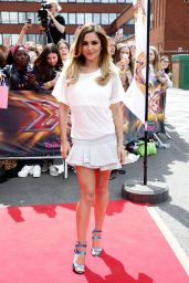 Cheryl Cole Shows off Her Legs - X Factor Auditions in Manchester - June 2014