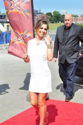 Cheryl Cole - X Factor Auditions in Newcastle - June 2014