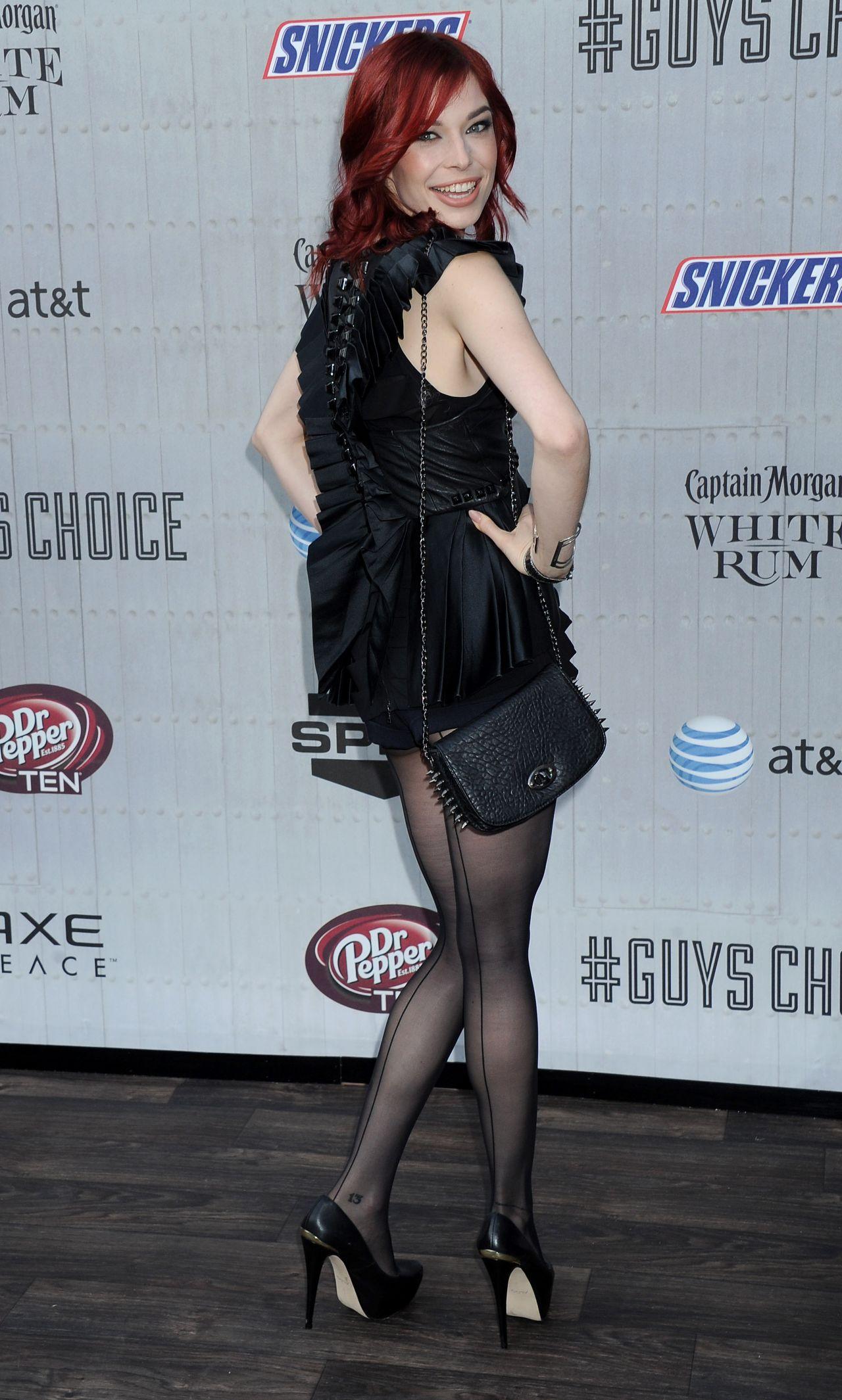 Chloe Dykstra 2014 Spike Tv S Guys Choice Awards In Culver City