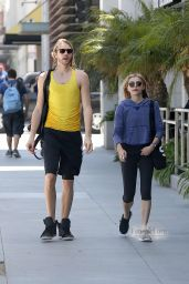 Chloe Grace Moretz and Trevor Go To SoulCycle - May 2014