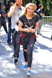 Chloe Moretz at Staples Center in Los Angeles - June 2014