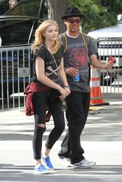 Chloe Moretz at Staples Center in Los Angeles - June 2014