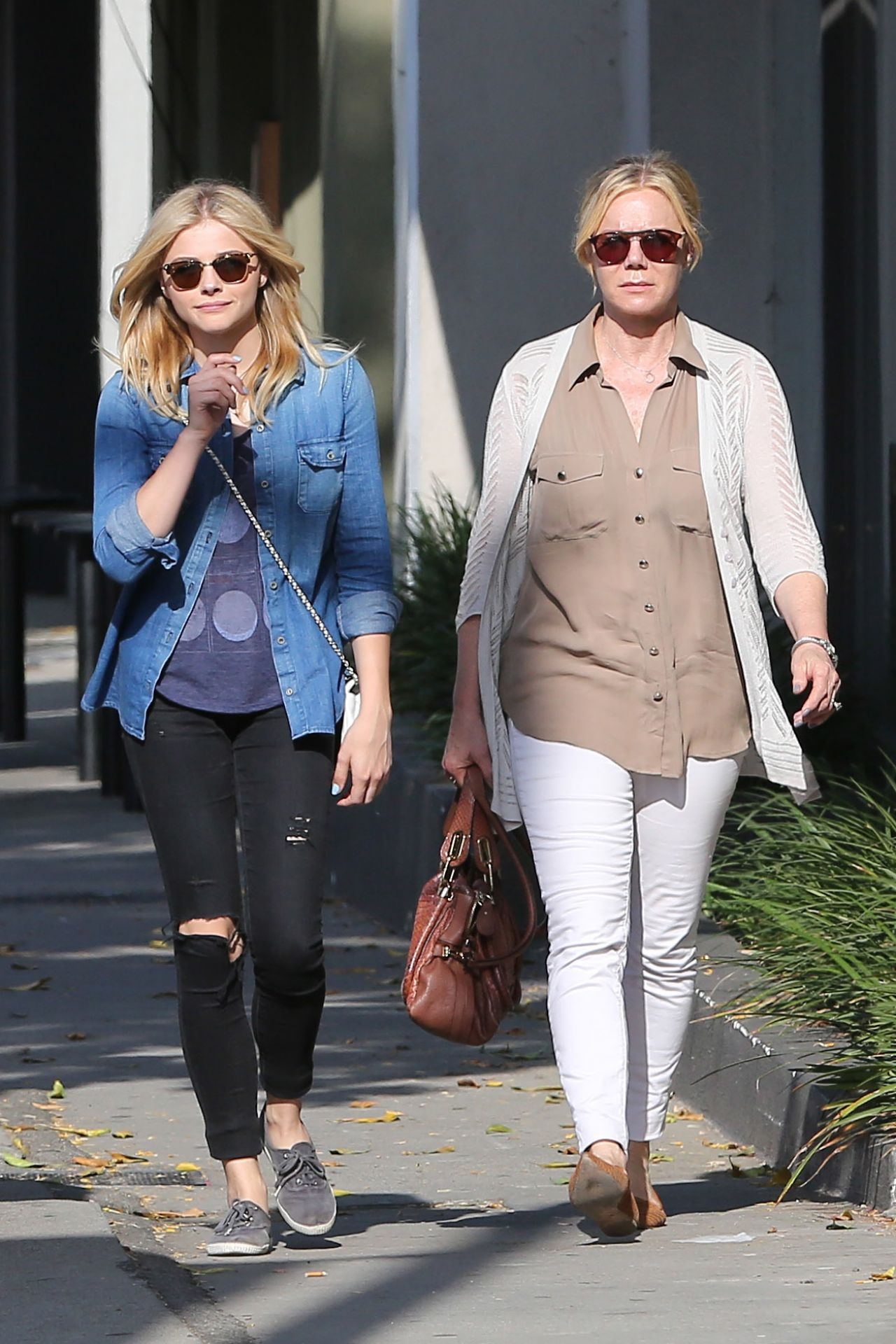 Chloe Moretz Street Style Out In West Hollywood June 2014