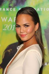 Chrissy Teigen - Fragrance Foundation Awards 2014