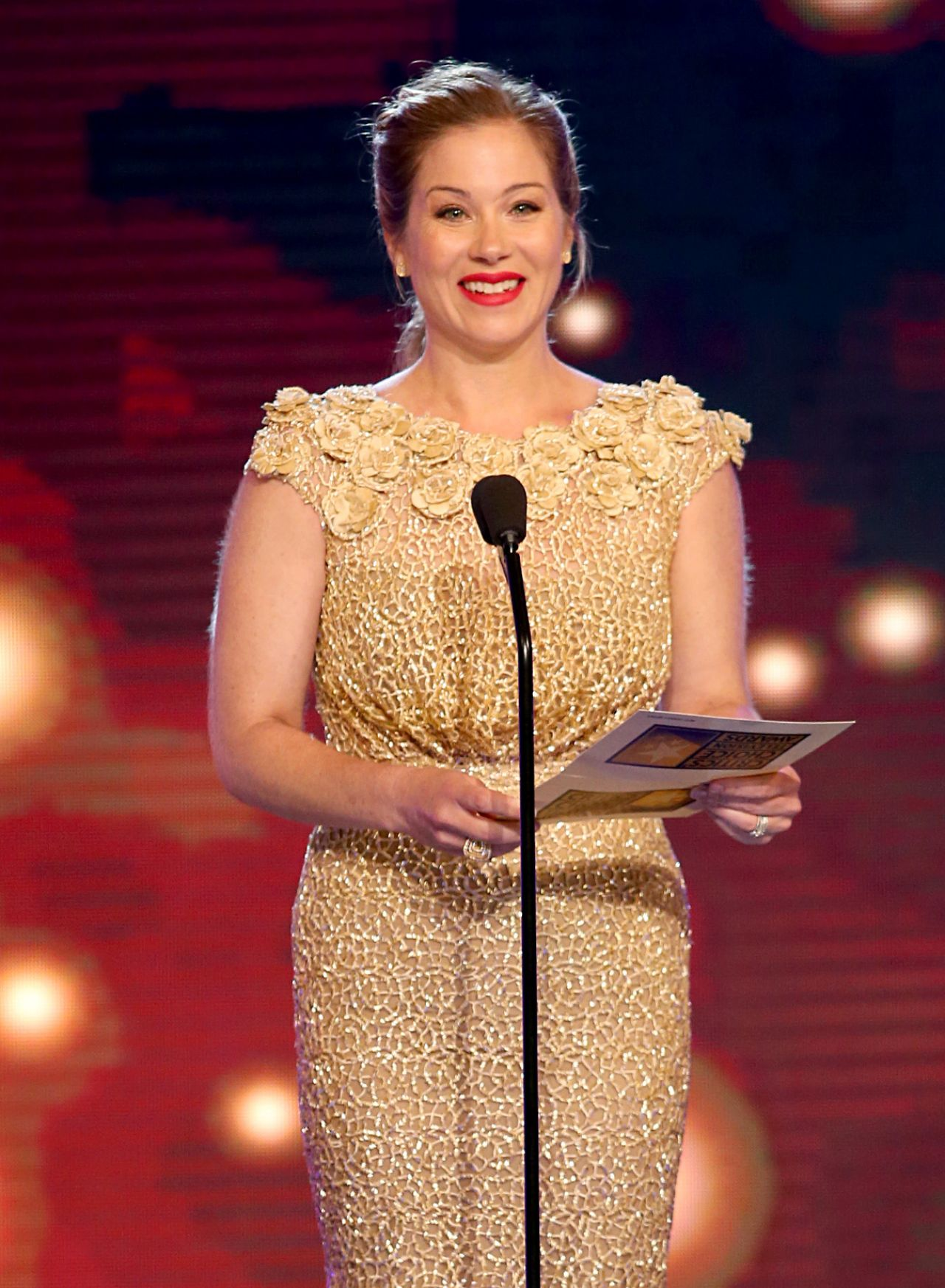 Christina Applegate 2014 Critics Choice Television