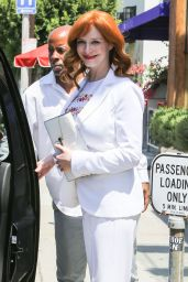 Christina Hendricks Casual Style - Out in Beverly Hills - June 2014
