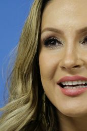 Claudia Leitte - FIFA World Cup Press Conference - June 2014