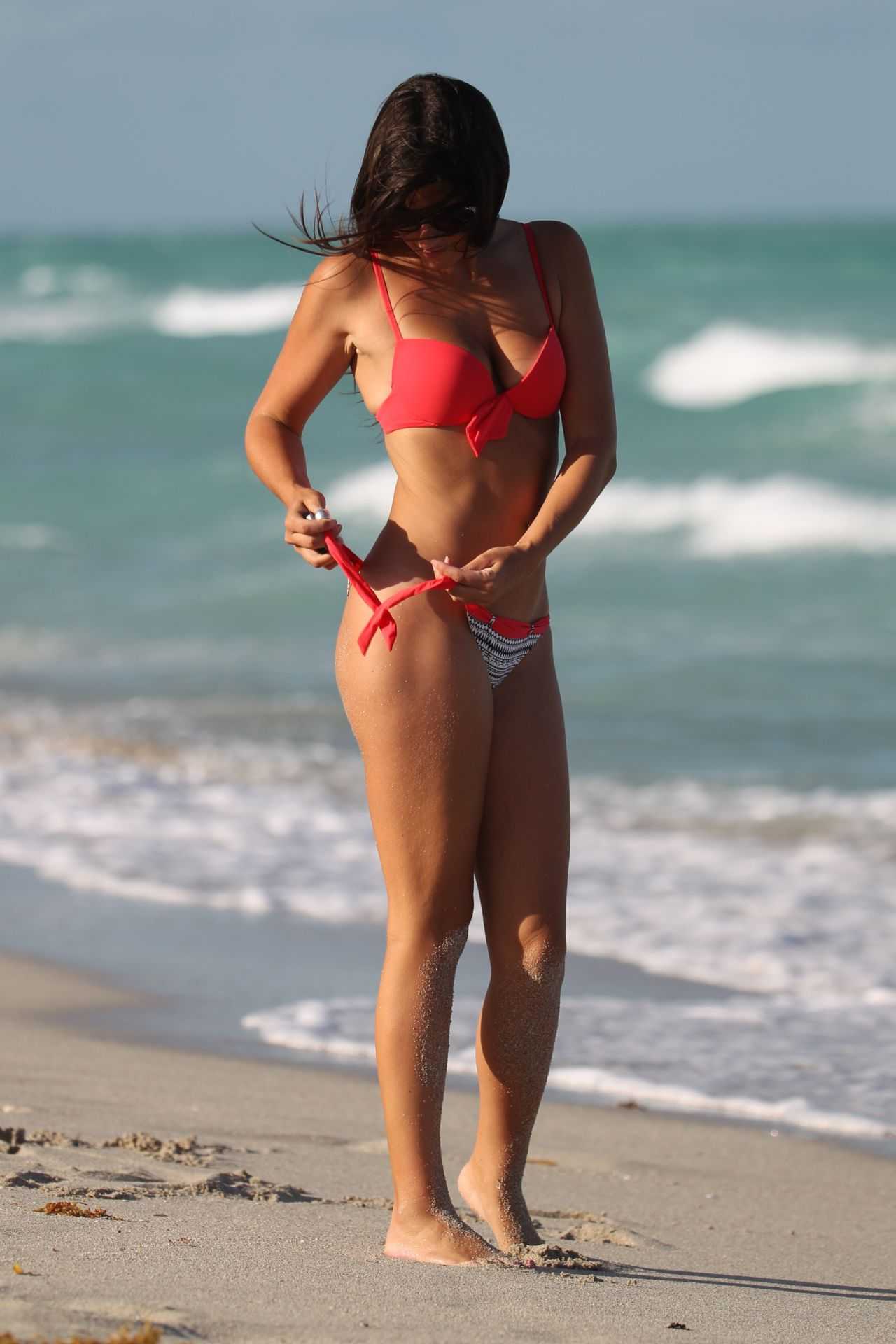 Cell phone bikini