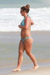 Coleen Rooney in a Bikini - Rio de Janeiro - June 2014
