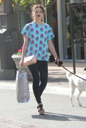 Crystal Reed at The Grove in West Hollywood – June 2014