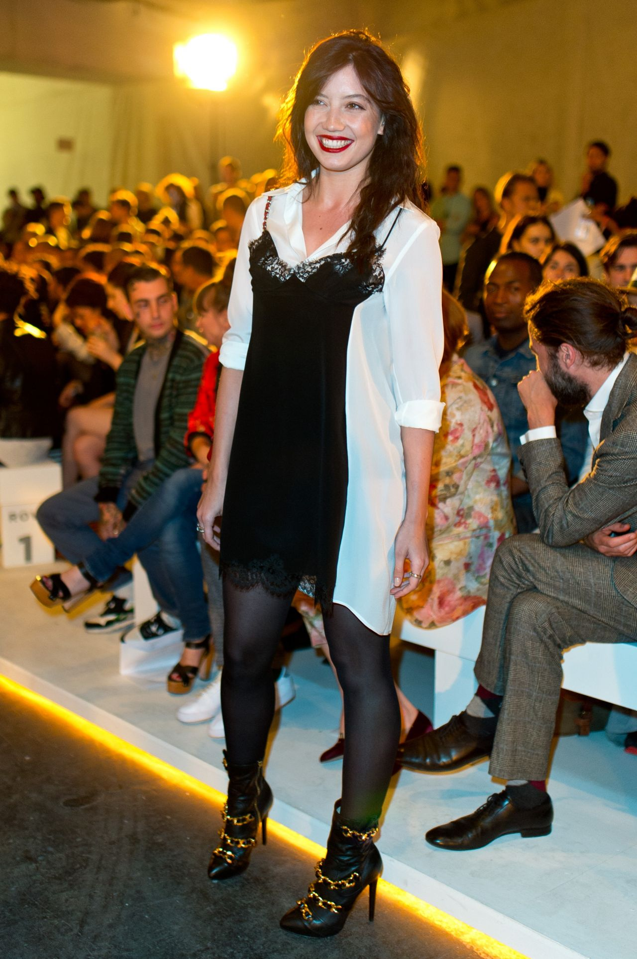 Daisy Lowe at Casely-Hayford Fashion Show 2014