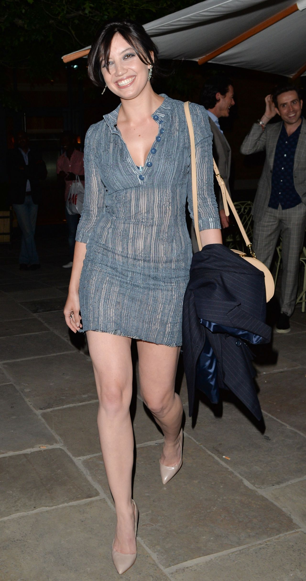 Daisy Lowe At Gq Magazine Dinner To Celebrate London