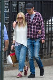 Dakota Fanning and Boyfriend Out in NYC - June 2014