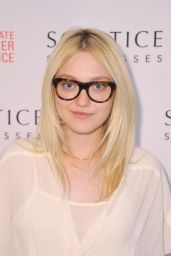 Dakota Fanning at Solstice Sunglasses Summer Soiree in New york City