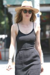 Dakota Johnson Street Style - Out in New York City - June 2014