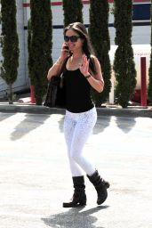 Danica McKellar Street Style - Out in Beverly Hills - June 2014