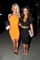 Danielle Armstrong Night out Style - Mojito Bar In Liverpool - May 2014