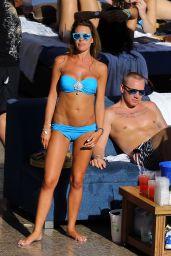 Danielle Lloyd Bikini Candids - at Poolside in Las Vegas - June 2014
