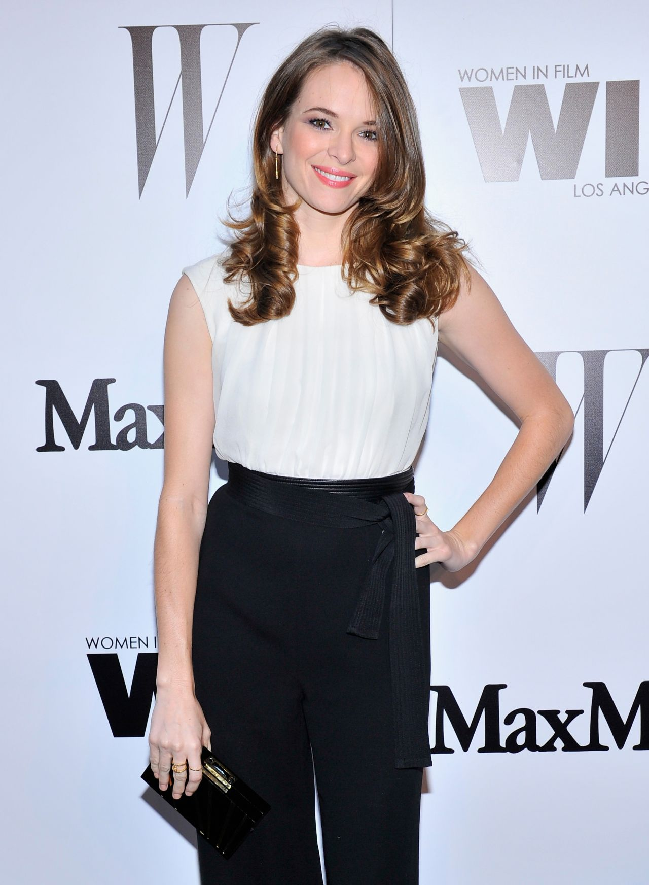 Danielle Panabaker at MaxMara & W Magazine Women In Film Cocktail Party in Los Angeles