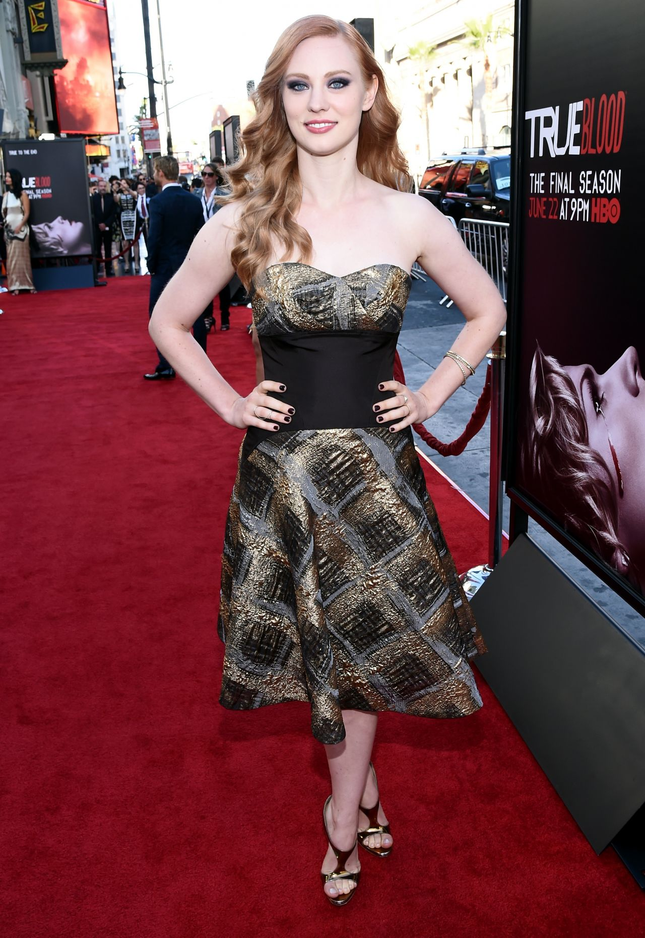 Deborah Ann Woll True Blood Tv Series Season 7 Premiere