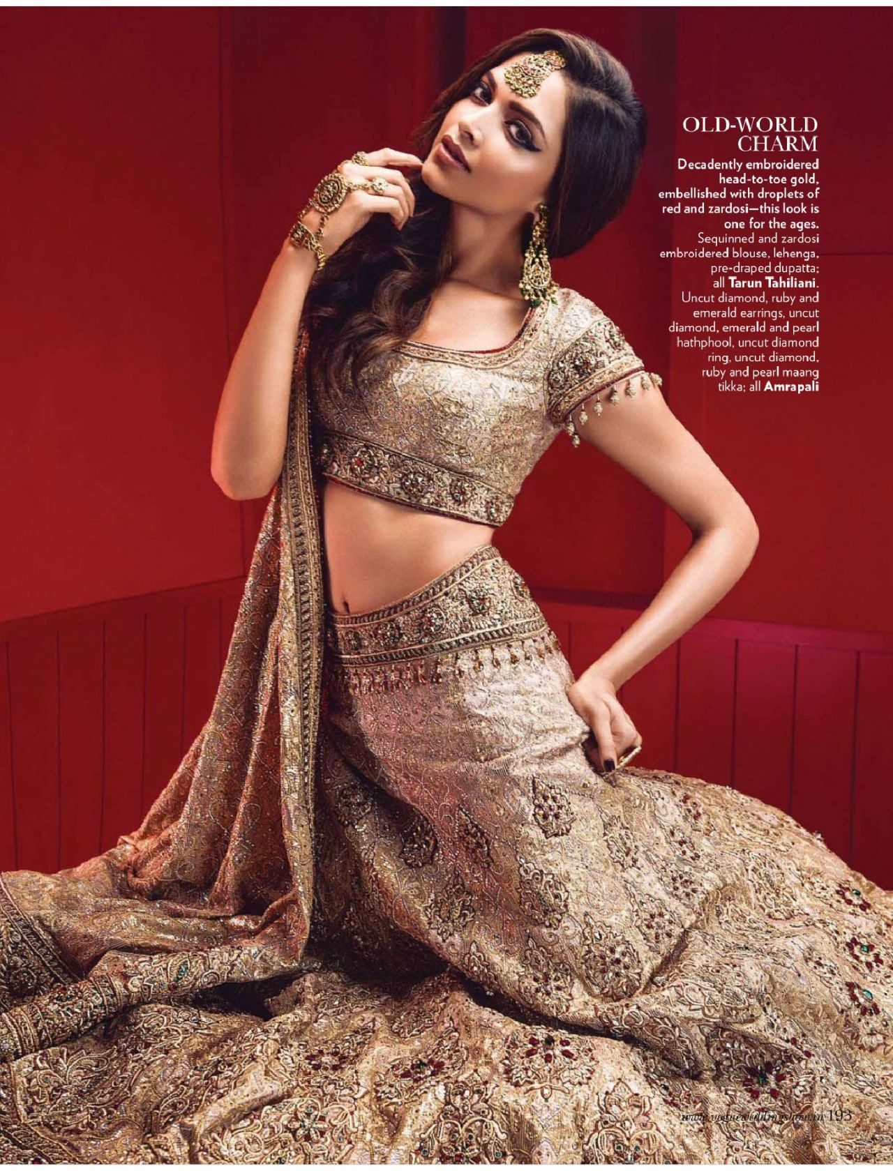 Deepika Padukone - Vogue Magazine (India) - June 2014 Issue