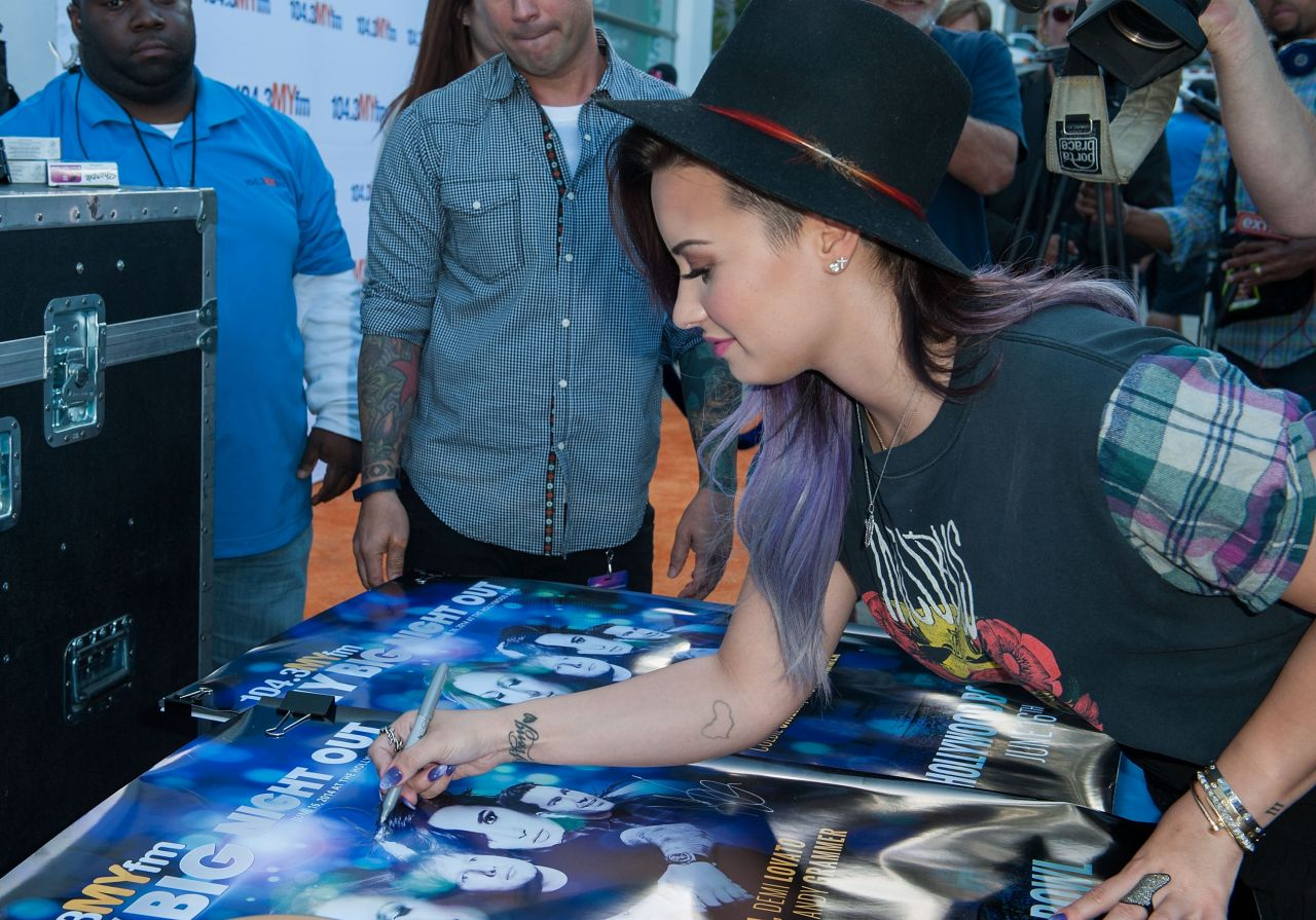 Demi Lovato - 104.3 MY FM Presents My Big Night Out - June 2014