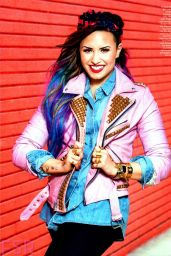 Demi Lovato - Seventeen Magazine August 2014 Issue