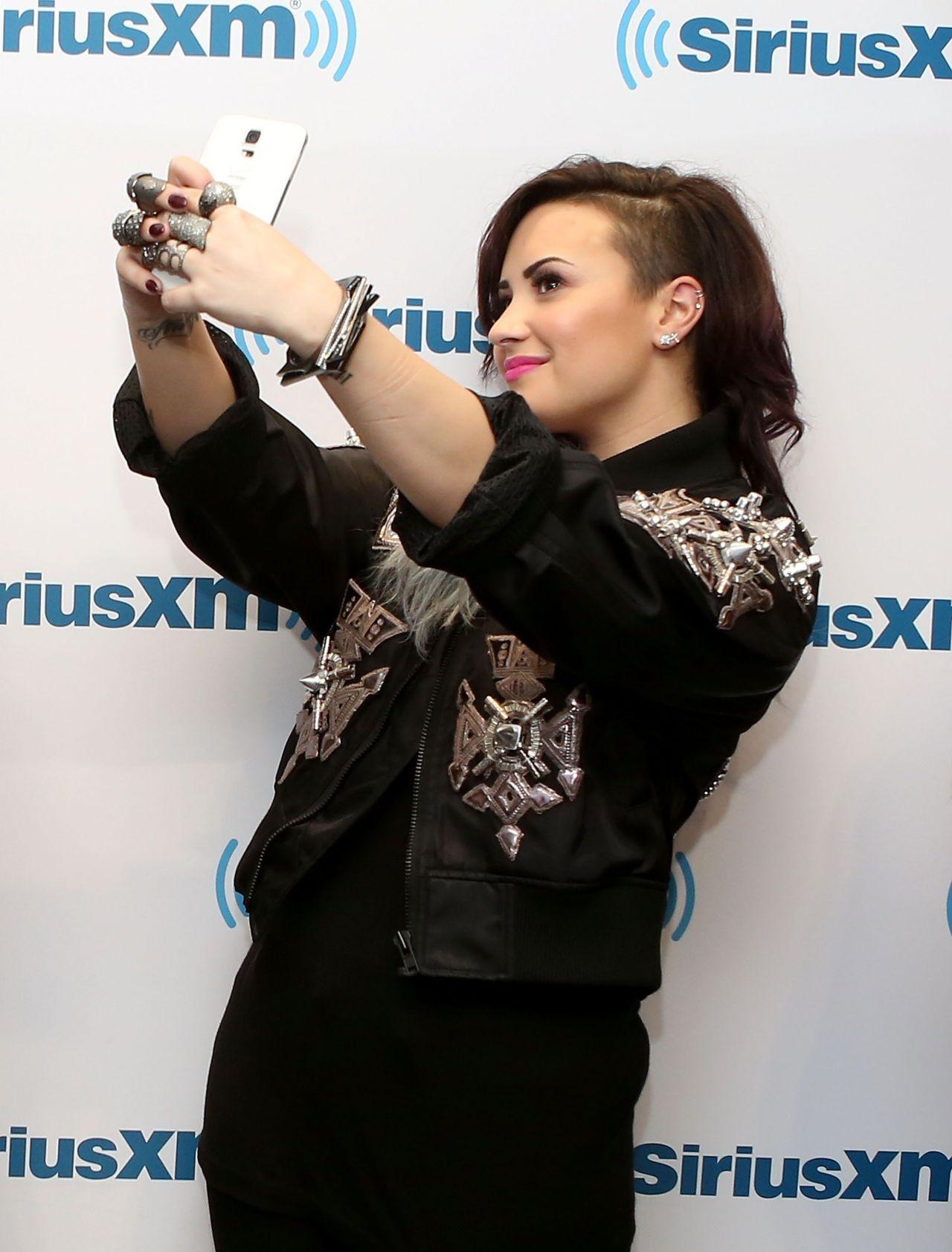 Demi Lovato Siriusxm Studios York City June
