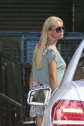 Denise van Outen - Outside the ITV Studios in London - June 2014