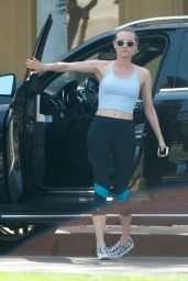 Diane Kruger at the Gym in Los Angeles - June 2014