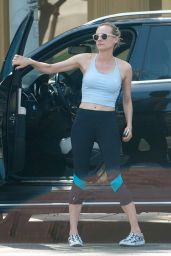 Diane Kruger at the Gym in Los Angeles - June 2014