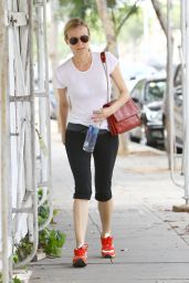 Diane Kruger Heads to Her Car Following a Morning Workout - Los Angeles, June 2014
