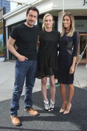 Diane Kruger on Set of